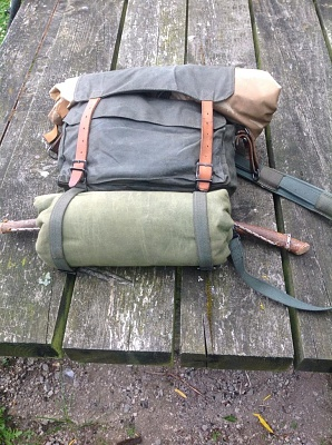 Wynnchester Waxed Cotton Haversack