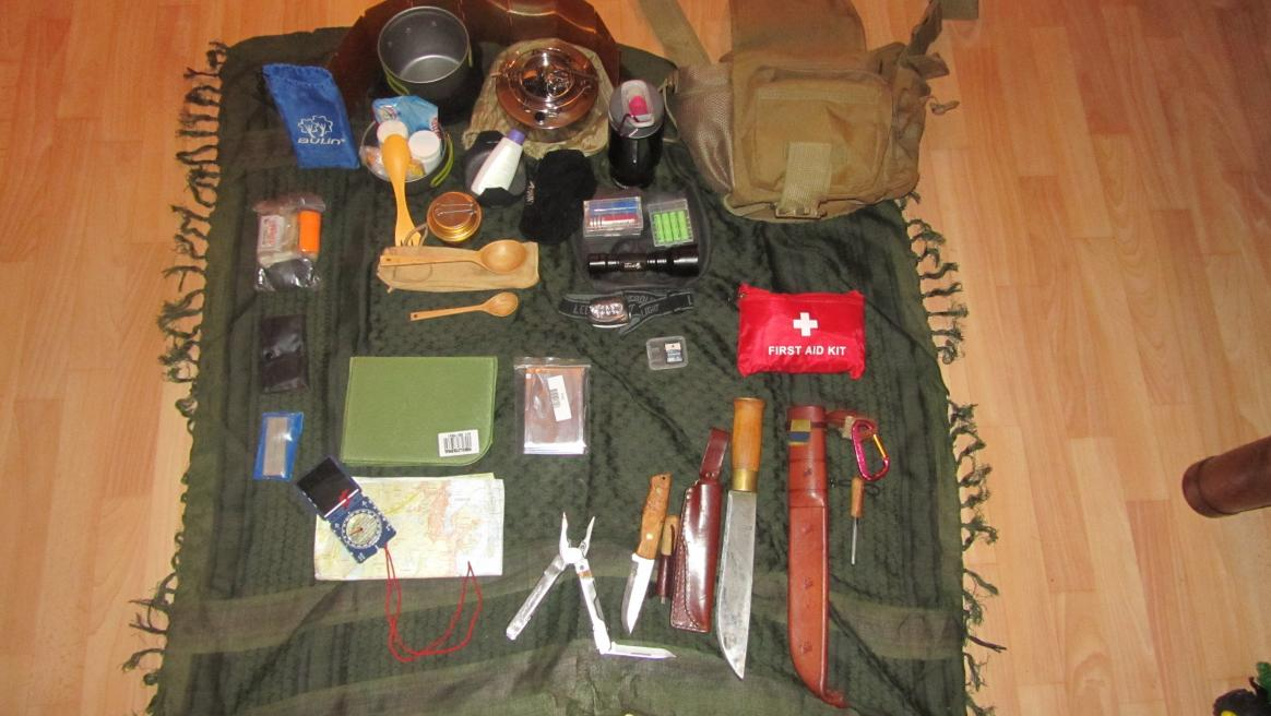 bug out bag.  Page 2