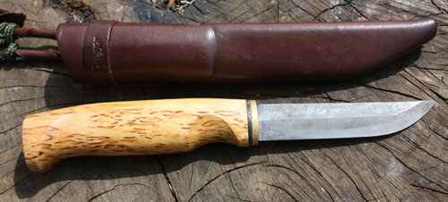 Ashleys Bushcraft Knife - Finland Blade Puukko
