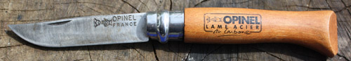 opinel folding knife french made reliable knives